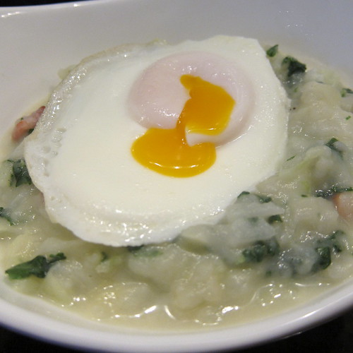 Colcannon with a Soft Egg