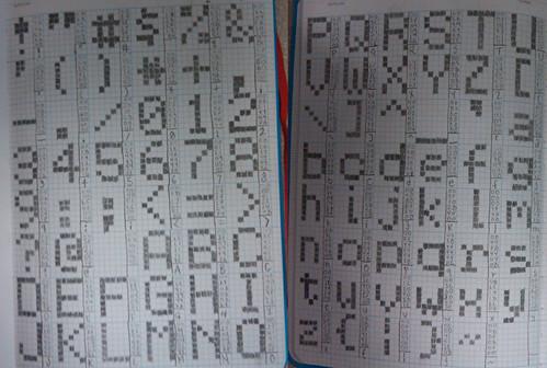 font layout