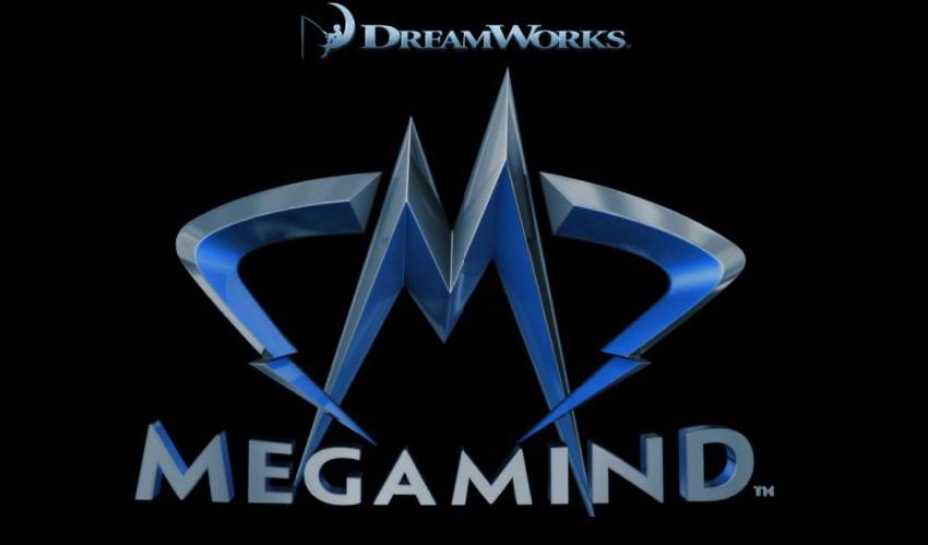 Megamind logo 3D