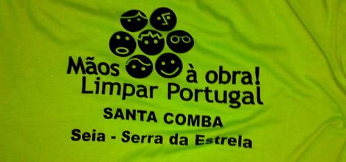 Limpar Portugal em Santa Comba