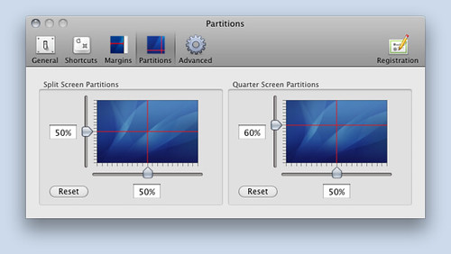 SizeUp partitions