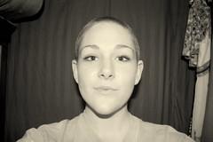 SHaved (Lupinesinyourehair) Tags: hair women no bald renee 18thbirthday shavedhead girlwithshavedhead girlwithashavedhead