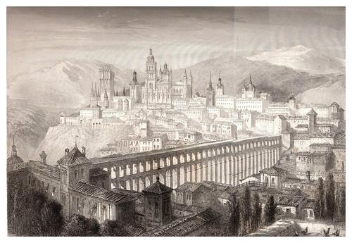 025-Segovia-Voyage pittoresque en Espagne et en Portugal 1852- Emile Bégin