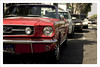 Red is not the color of just Passion, it also the color of Speed... (Sergio L.A.) Tags: santamonica tuyyo redmustang fromarchives losangelesshadespresets laseaglerockpresets