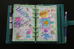 DIY Planner March 15-21, 2010 (jadecat23) Tags: watercolor filofax diyplanner calendarart