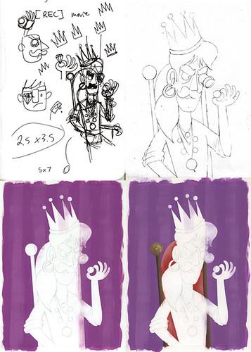 Tarot process 1