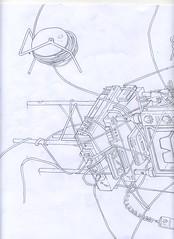 scan687 (JJVVDDMM) Tags: pencil work drawing progress line half paperwork