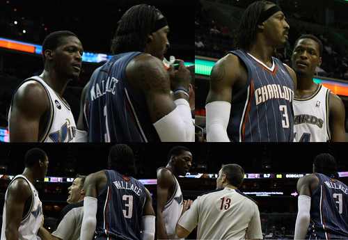 Al Thornton, Gerald Wallace, Washington Wizards, Charlotte Bobcats