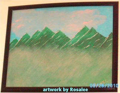 Painting by Renee/Rosalee