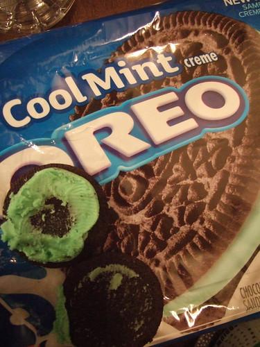 Cool Mint Oreos
