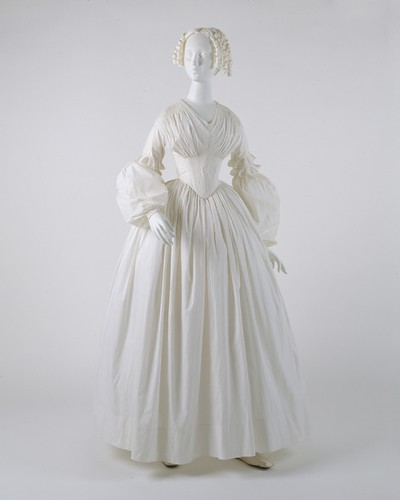Cotton Dress, 1840