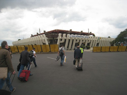 The diminutive Kigali International Airport