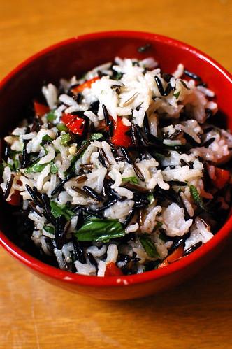 Jamie Oliver's wild rice salad