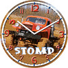 Dodge Power Wagon Clock