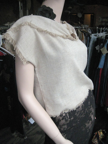 linen faded black rose n lace