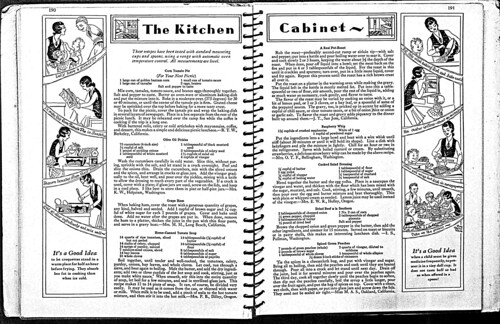 Kitchen Cabinet Cookbook, pgs 190-191