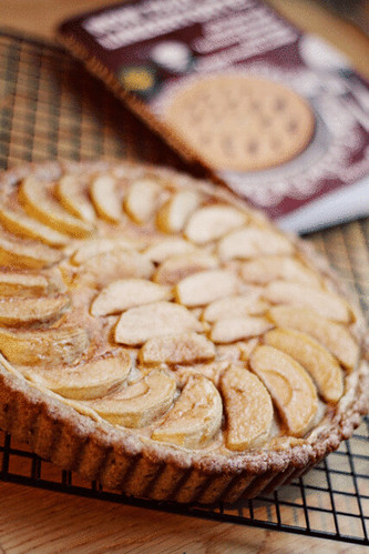 Whole Wheat Maple Apple Tart