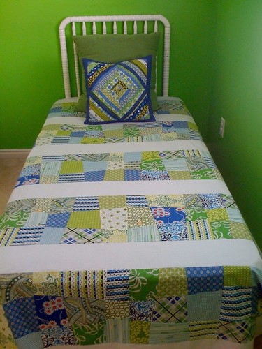 Mason's quilt top = done!