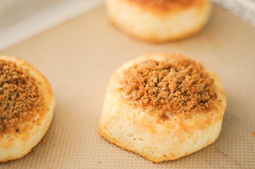 brown sugar black pepper biscuit