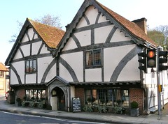 The Oldest House, Winchester, Hampshire. (Mike Cattell) Tags: uk house oak timber framed united mary creative kingdom hampshire tudor winchester oldest beams chesil rectory comons