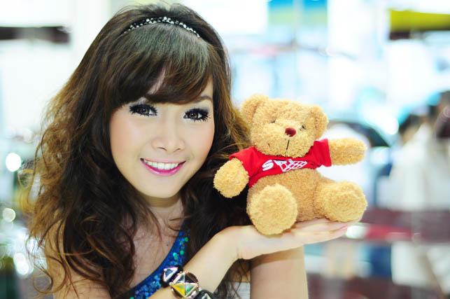 Bangkok Motor show girls 07