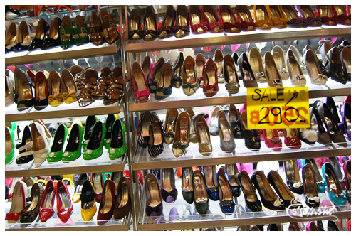 bangkok shopping - shoes