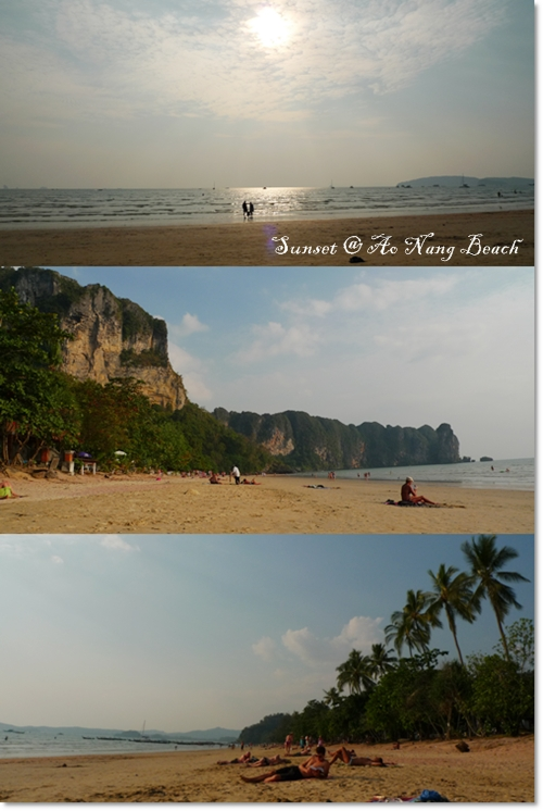 Sunset @ Ao Nang
