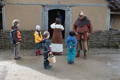 Lasse der Wikinger in Haithabu WHH - Museumsfreifläche Wikinger Museum Haithabu WHH 04-04-2010