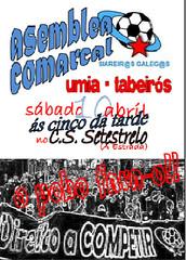 Cartaz asamblea comarcal