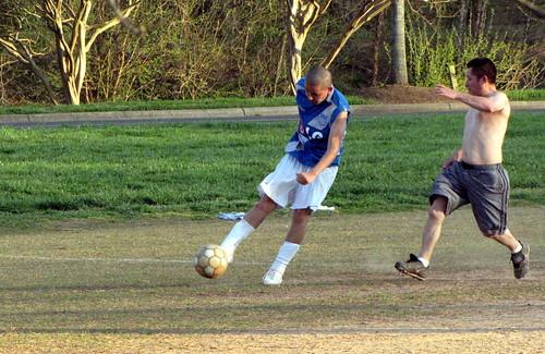 Futbol in Freedom Park