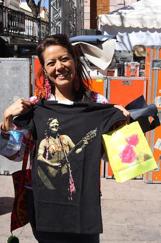 lila Downs  t shirt by mayraacosta