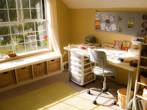 Sewing Room Design Ideas a pretty sewing room makeover Red Sewing Room By Pioneer Valley Girl