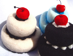 Felted Cakes 2