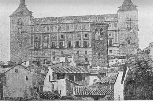 Iglesia de San Miguel y Alcázar hacia 1900