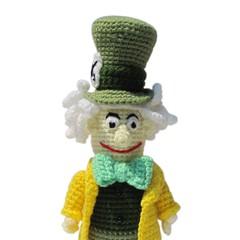 Der verrückte Hutmacher (haekelanleitungen) Tags: pattern verrückt alice crochet amigurumi muster madhatter anleitung hutmacher aliceimwunderland häkelanleitung
