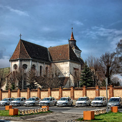 Sf. Bartolomeu (George Nutulescu) Tags: brasov romania hdr vertorama nikond40 church bartolomeu travel square 500x500 galleryofdreams eovsimpressive extraordinairyvsimpressive coppercloudsilvernsun artdigital redmatrix sailsevenseas pyramid dragondaggerawards gpc