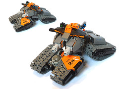 Ultaran 'Wrath' MBT (Pierre E Fieschi) Tags: tank lego space main battle future mbt wrath fieschi microspacetopia pierree