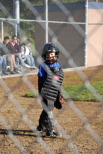 playing catcher