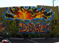 RTD Santa Fe Wall - March 2010 (Seetwist) Tags: autostitch panorama streetart art graffiti mural colorado paint grafitti stitch grafiti pano denver graffitti local graff piece aerosol stp 303 ptgui 720 denvergraffiti seetwist denverstreetart seetwistproductions