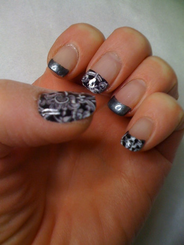 Mix and match Minx and nail art