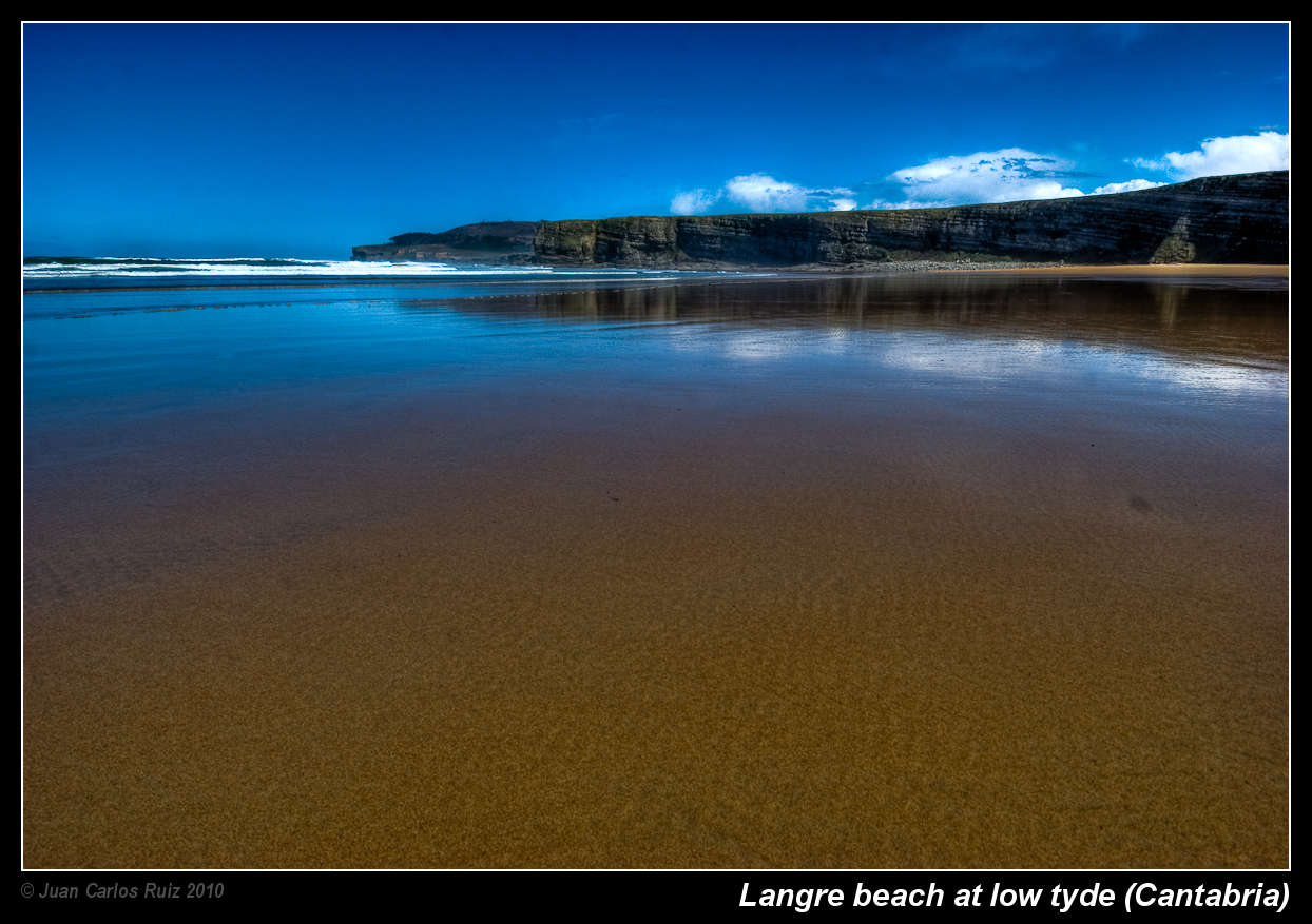 Langre beach - low tyde (Cantabria)