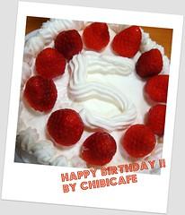 誕生日ケーキ 2go DSC09268