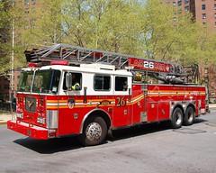 "E058l FDNY ""Fire Factory"" Ladde"