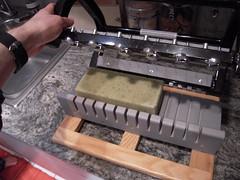 (LOVE NATURE NYC) Tags: handmade cutting bathandbody essentialoil naturalsoap peppermintrosemary