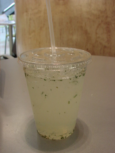 Virgin Mojito Lemonade from Urban Lobster Shack