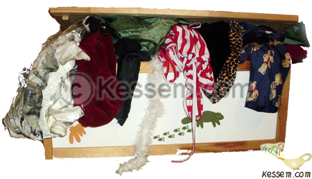 A Costumes and Props Box