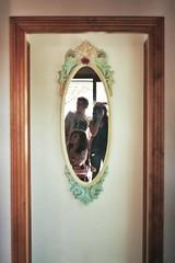 (zapica) Tags: door anna beach mirror puerta playa espejo santantoni zapica zapico estivill annazapicoestivill annazapica