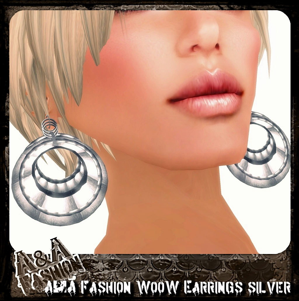 A&A Fashion WooW Earrings Silver