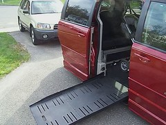 new accessible van for Siraya