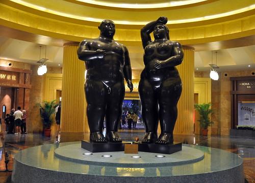 Botero's Adam and Eve